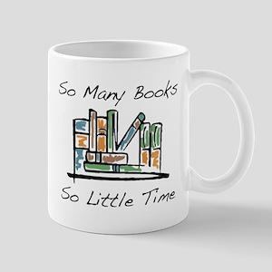 So Many Books Mug