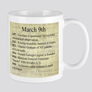March 9th Mugs