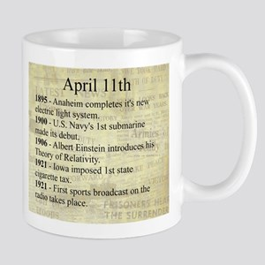 April 11th Mugs