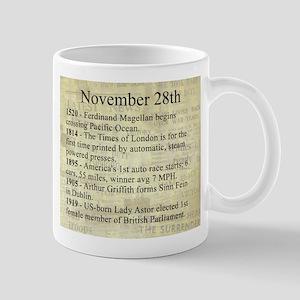 November 28th Mugs