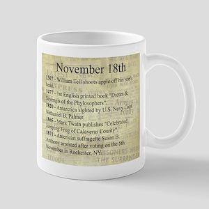 November 18th Mugs