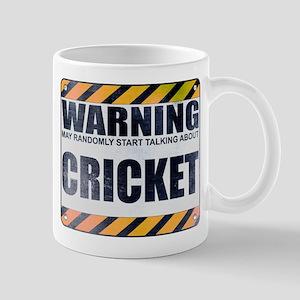 Warning: Cricket Mug