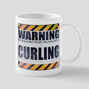 Warning: Curling Mug