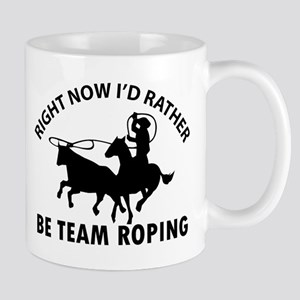 Right Now I'd Rather Be Playing Team Ro Mug