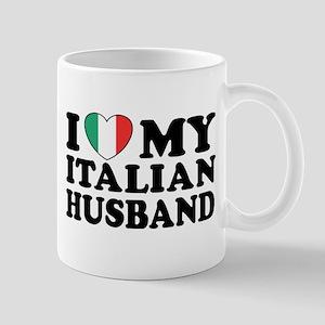 I Love My Italian Husband Mug