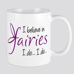 i believe in fairies color Mug