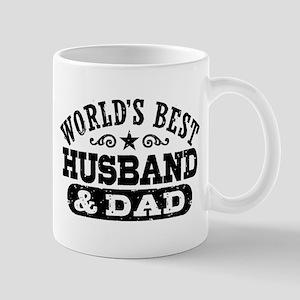 World's Best Husband and Dad Mug