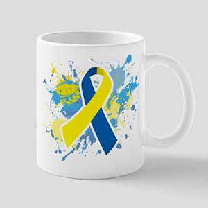 Down Syndrome Splatter Mug