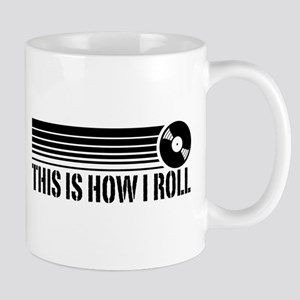 This Is How I Roll Vinyl Mug