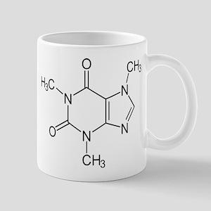 Caffeine Molecule 11 oz Ceramic Mug