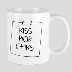 Kiss Mor Chiks Board Mugs
