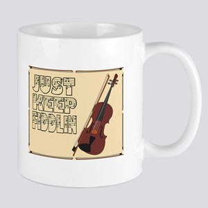 Just Keep Fiddlin Around Mugs