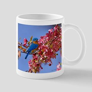 Bluebird in Blossoms Mug