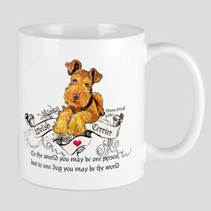 Welsh Terrier World 11 oz Ceramic Mug