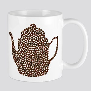 Coffee Bean Tea Pot Mugs