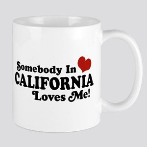 Somebody in California Loves Me Mug