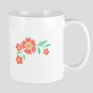 Floral Accent Mugs