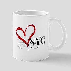 LOVE NYC FANCY Mugs