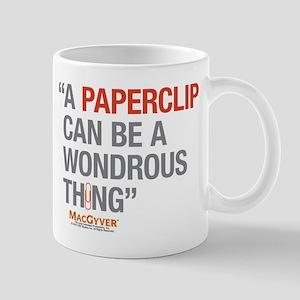 MacGyver: Paperclip Mug