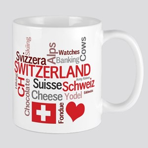 Switzerland - Favorite Swiss Things Mug