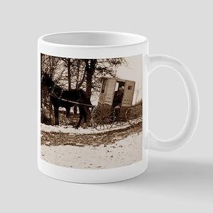 mailtruckoldfashioned Mugs