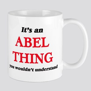 It's an Abel thing, you wouldn't unde Mugs