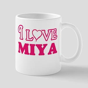 I Love Miya Mugs