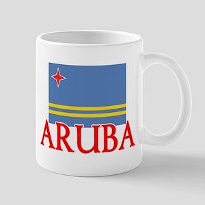 Aruba Flag Design Mugs