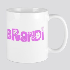Brandi Flower Design Mugs