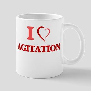 I Love Agitation Mugs
