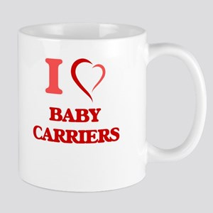I Love Baby Carriers Mugs