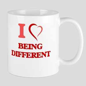 I Love Being Different Mugs