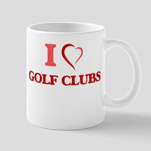 I love Golf Clubs Mugs