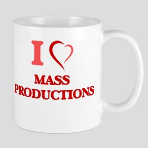 I Love Mass Productions Mugs