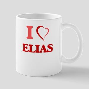 I Love Elias Mugs