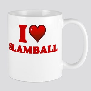 I Love Slamball Mugs