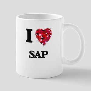 I Love Sap Mugs