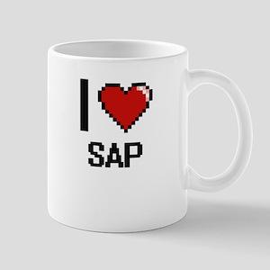 I Love Sap Digital Design Mugs