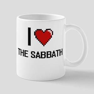 I love The Sabbath digital design Mugs