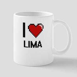 I love Lima Digital Design Mugs