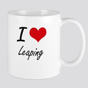 I Love Leaping Mugs