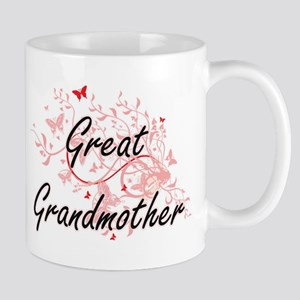 Great Grandmother Artistic Design with Butter Mugs