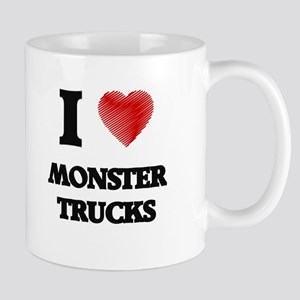 I love Monster Trucks Mugs