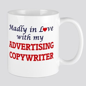 Madly in love with my Advertising Copywriter Mugs