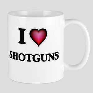 I Love Shotguns Mugs