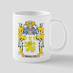 Moretti Coat of Arms - Family Crest Mugs