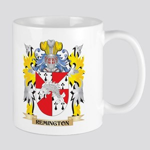 Remington Family Crest - Coat of Arms Mugs