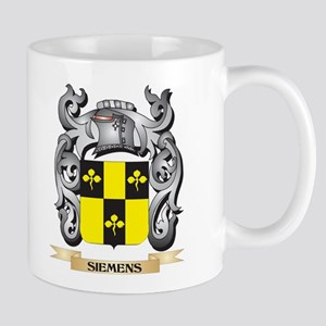 Siemens Coat of Arms - Family Crest Mugs