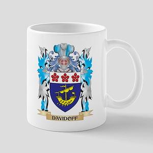 Davidoff Coat of Arms - Family Crest Mugs