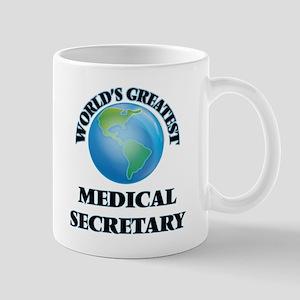 World's Greatest Medical Secretary Mugs